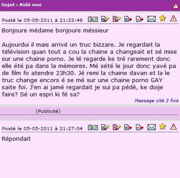 orthographe perles-des-forums