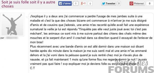 folle perles des forums