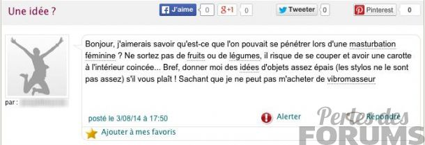 idée perles des forums