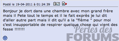 peteur perles de forums